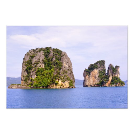 Thailand, Andaman Sea. Ao Phang Nga Islands in Art Photo