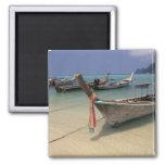 Thailand, Andaman Sea, Ko Phi Phi Island, 2 Inch Square Magnet