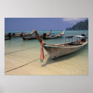 Thailand, Andaman Sea, Ko Phi Phi Island, Poster