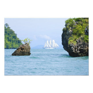 Thailand, Andaman Sea. Star Fyer clipper ship 2 Photo Print