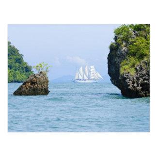Thailand, Andaman Sea. Star Fyer clipper ship 2 Postcard