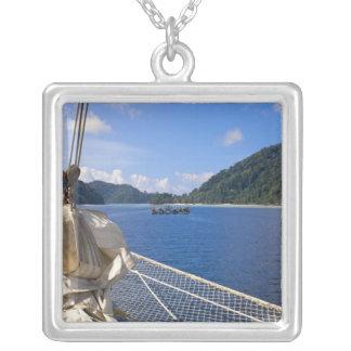 Thailand, Andaman Sea. Star Fyer clipper ship Pendant