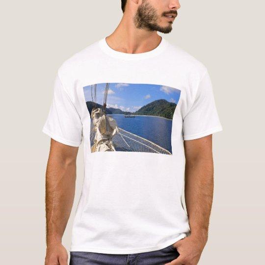 Thailand, Andaman Sea. Star Fyer clipper ship T-Shirt