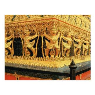 Thailand, Bangkok, Decoration, Wat Phra Keo Postcard
