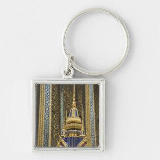 Thailand, Bangkok. Details of ornately decorated Keychain