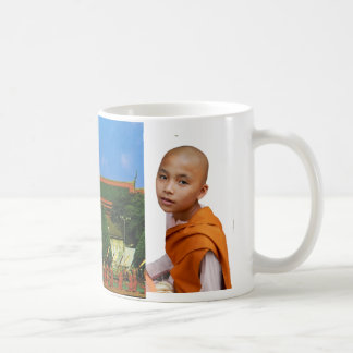 Thailand, Bangkok, Grand Palace and Royal barge Coffee Mug