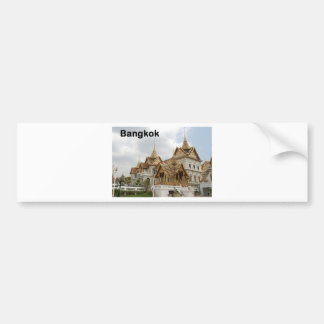 Thailand Bangkok grand palace (new) (St.K) Bumper Sticker