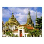 Thailand, Bangkok  Wat Phra Chetuphon Post Card