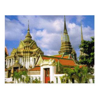Thailand Bangkok Wat Phra Chetuphon Post Card