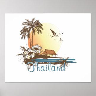Thailand Beach Hut Print