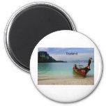 Thailand beach in Krabi (St.K) 2 Inch Round Magnet