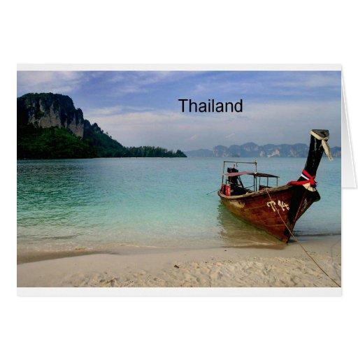Thailand beach in Krabi (St.K) Greeting Cards