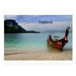 Thailand beach in Krabi (St.K) Post Card