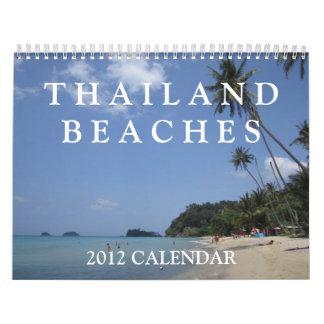 Thailand Beaches 2012 Calendar