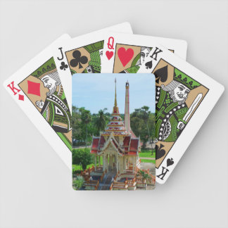 Thailand Buddhist Temple Playing Cards