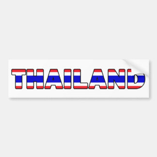Thailand Bumper Sticker