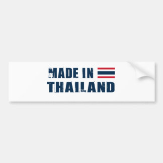 THAILAND CAR BUMPER STICKER