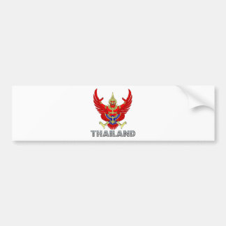 Thailand Coat of Arms Bumper Sticker