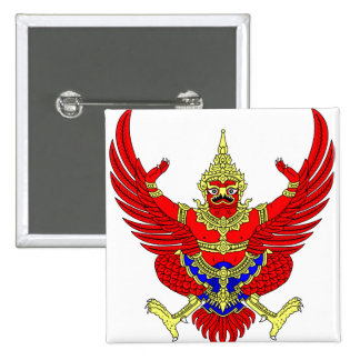 Thailand Coat of Arms detail Buttons