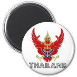 Thailand Coat of Arms Fridge Magnet
