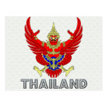 Thailand Coat of Arms Postcard
