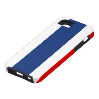 thailand country flag case red blue white stripes
