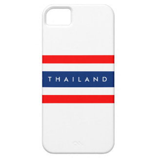 Thailand country flag nation symbol name text iPhone SE/5/5s case