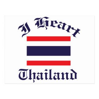 Thailand design postcard