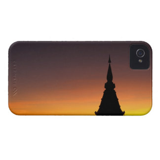 Thailand, Doi Inthanon Mountain. Sunset iPhone 4 Case