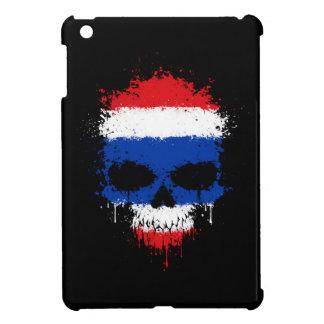 Thailand Dripping Splatter Skull Cover For The iPad Mini