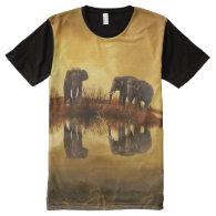 Thailand Elephants 1 All-Over Print T-shirt