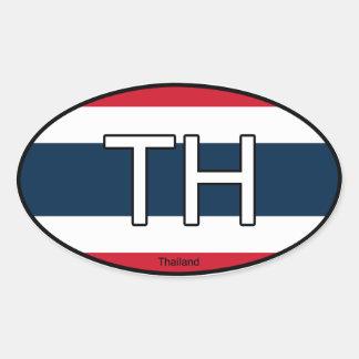 Thailand Euro Sticker