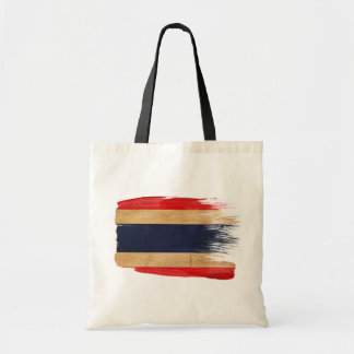 Thailand Flag Canvas Bags