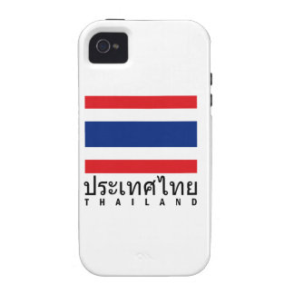 Thailand Flag Vibe iPhone 4 Cover