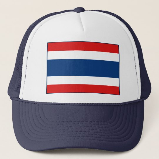 Thailand Flag Hat