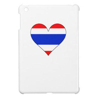 Thailand Flag Heart iPad Mini Cases
