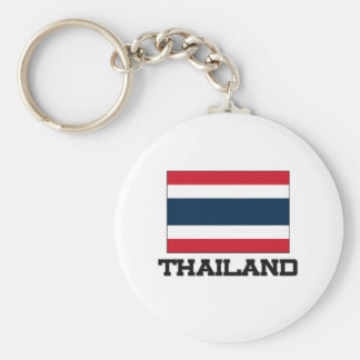 Thailand Flag Keychain