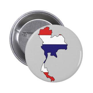 Thailand flag map pins