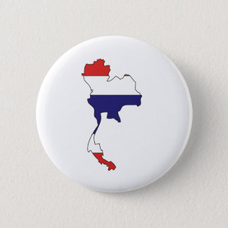 Thailand Flag Map full size Button