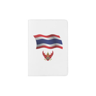 Thailand Flag Passport Holder