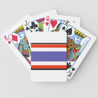 Thailand Flag Bicycle Poker Cards