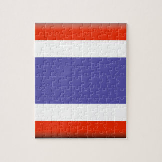Thailand Flag Puzzle