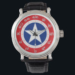 """Thailand Flag Watch ( Number in Thai numerals )<br><div class=""""desc"""">Cool and awesome Thailand watch with the watch number in Thai numerals system. Wear it and you also can learn about Thai numerals system.</div>"""