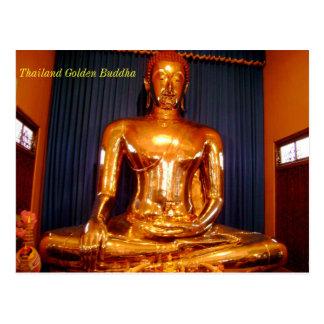 Thailand Golden Buddha Post Cards