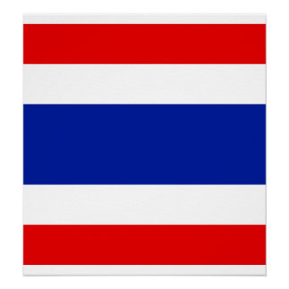 Thailand High quality Flag Posters