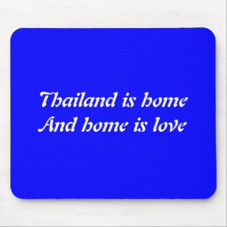 Thailand home mouse pad