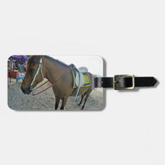 Thailand Horse Luggage Tag