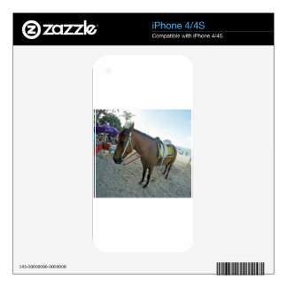 Thailand Horse Skins For iPhone 4S