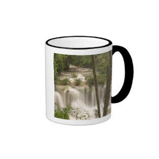 Thailand, Huai Mae Khamin Waterfall Coffee Mugs