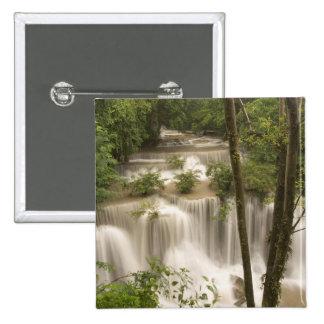 Thailand, Huai Mae Khamin Waterfall Pinback Button